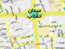 فایل اتوکد منطقه ۶ تهران (میدان انقلاب)