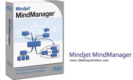 نرم افزار سازماندهی مطالب Mindjet MindManager 14.3.192