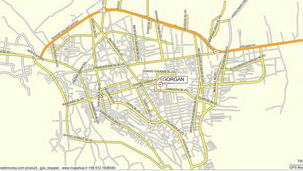 طرح تفصیلی شهر گرگان