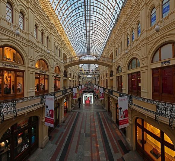 فروشگاه های بزرگ در مسکو