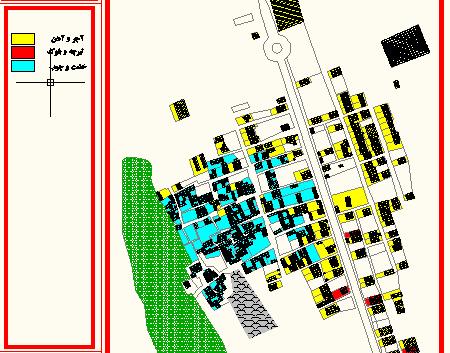 طرح هادی روستای امین شهر اصفهان