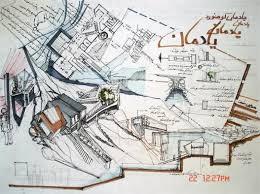 آزمون کاربرد روش چیدمان فضا در طراحی فضاهای سنتی شهری