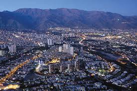 بررسی حوزه نفوذ کلان شهر تهران با روش زمانی و مدل جاذبه(گرانشی)