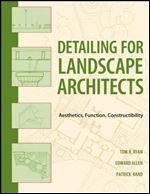 کتاب طرح جزئیات برای معماریهای منظر