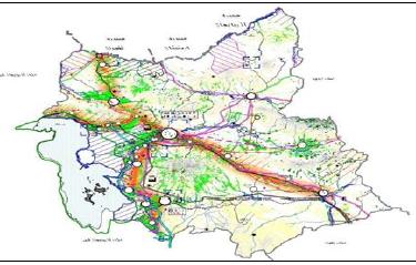 سازماندهی فضایی استان آذربایجان شرقی با رویکرد برنامه ریزی منطقه ای در افق چشم انداز