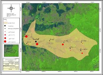 مکانیابی مراکز بهینه توسعه سکونتگاههای روستایی در شهرستان قائمشهر (مطالعه موردی: دهستان کوهساران)