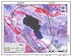 آثار تغییرات سطح دریاچۀ مهارلو بر میزان رطوبت و دمای هوای شهر شیراز