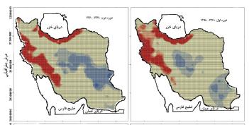 بررسی تغییرات الگوهای خود همبستگی فضایی درون دههای بارش ایران طی نیم قرن اخیر