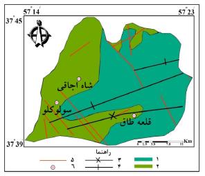 تفسیر مورفوتکتونیکی حوضه سولوکلو (خراسان شمالی) با استفاده از شاخصهای ژئومورفولوژیکی