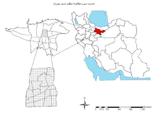تحلیل نابرابری های فضایی توزیع خدمات در سطح محلات منطقه شش تهران