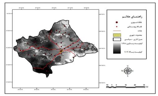 بررسی عوامل مؤثر بر بیابانزایی، پهنهبندی مناطق آسیبپذیر و پیشنهاد راهکارهای مؤثر برای کاهش پدیده بیابانزایی در منطقه خمین
