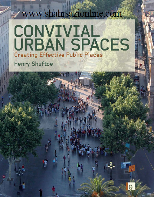 کتاب فضاهای شهری جشنی