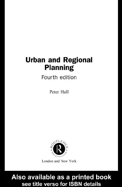 کتاب برنامه ریزی شهر و منطقه