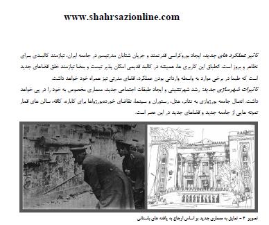 بررسی تحولات معماری و شهرسازی تهران و عوامل موثر بر آن