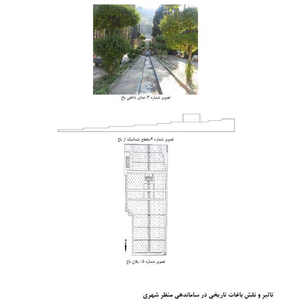 نقش واهمیت باغ های تاریخی در ساماندهی منظر شهری