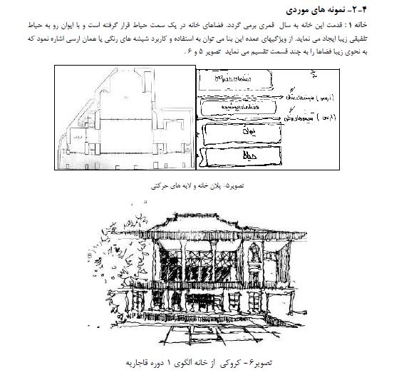 محرمیت در الگوی مسکن بومی و به کارگیری آن در معماری معاصر تهران