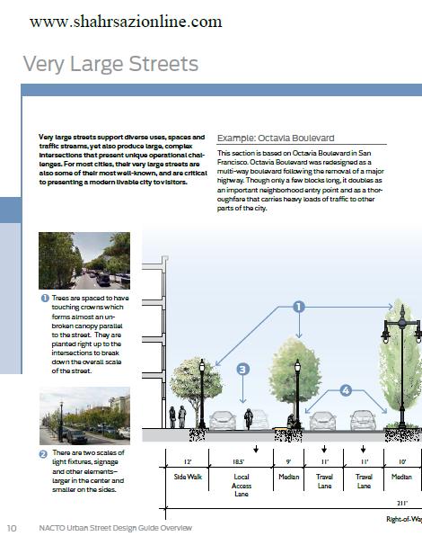 کتاب راهنمای طراحی خیابان شهری