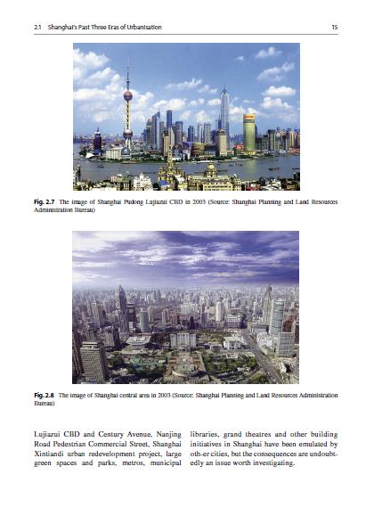 تکامل برنامه ریزی شهری و توسعه شهر شانگهای