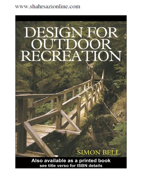 کتاب طراحی برای تفریح در فضای باز-سایمون بل