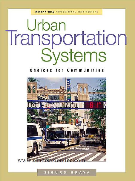 کتاب سیستم های حمل و نقل شهری
