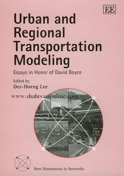 کتاب مدل سازی حمل و نقل شهری و منطقه