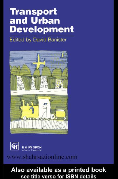 کتاب حمل و نقل و توسعه شهری