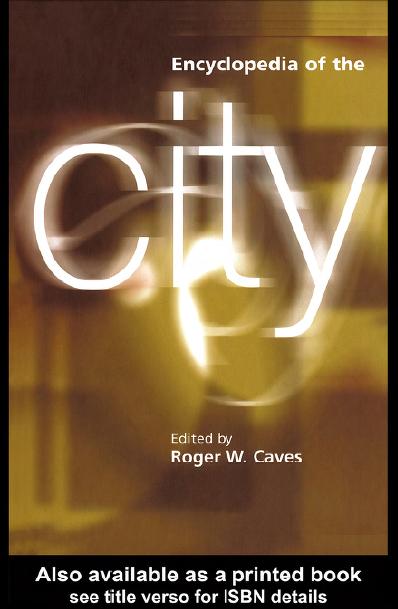 دانشنامه شهر و شهرسازی