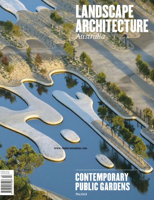 مجله معماری منظر-شماره۱۴۳