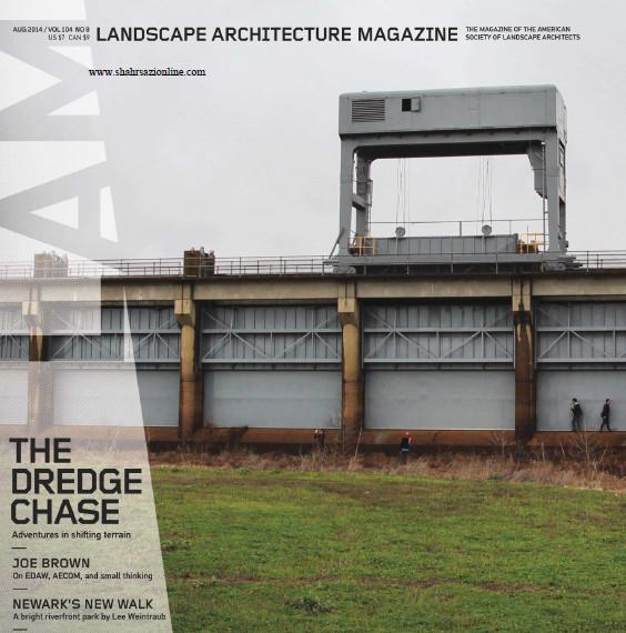 مجله معماری منظر-آگوست ۲۰۱۴