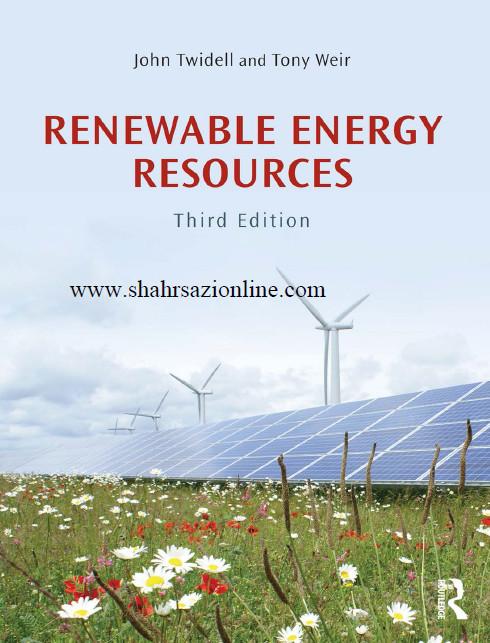 کتاب منابع انرژی تجدید پذیر