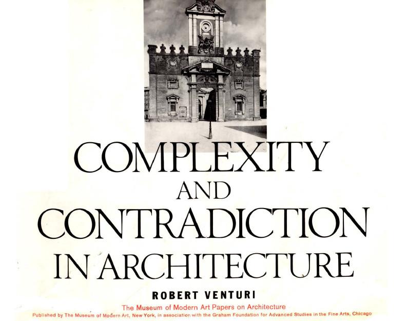 کتاب پیچیدگی و تناقض در معماری
