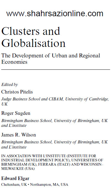 کتاب خوشه ها و جهانی شدن
