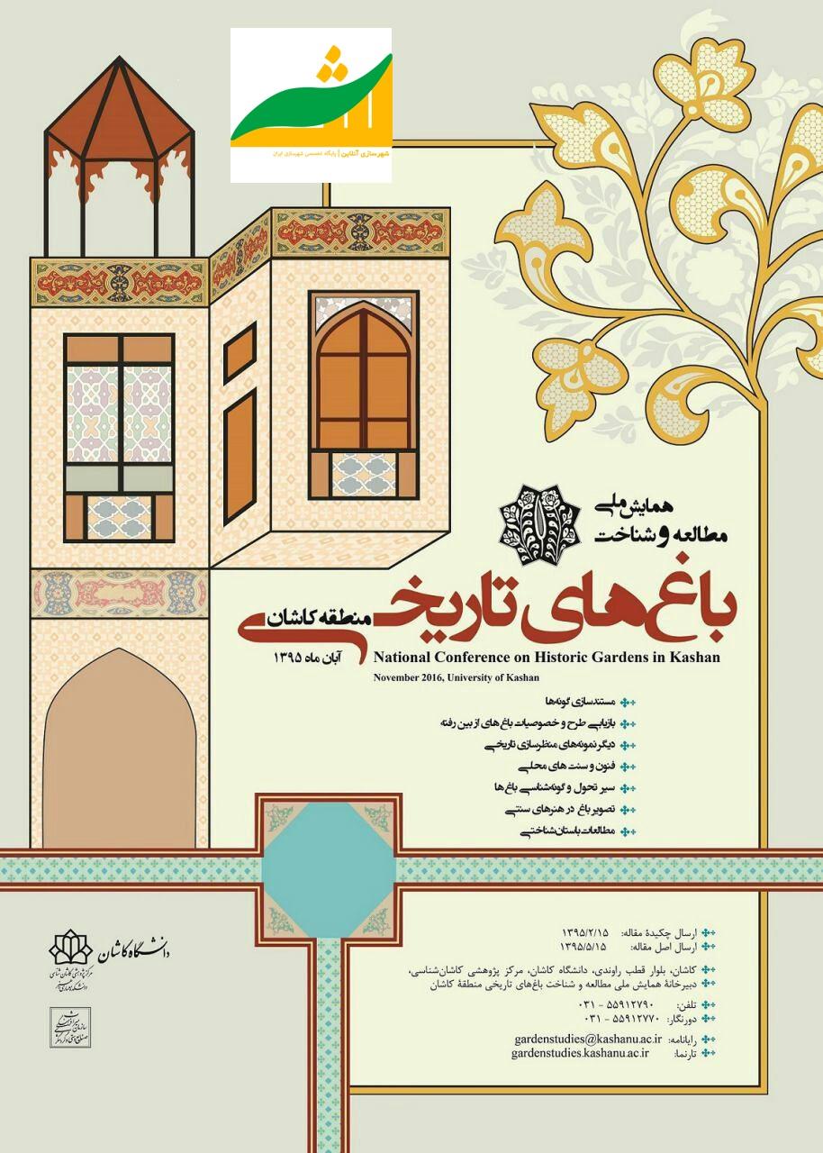 همایش ملی مطالعه و شناخت باغ های تاریخی منطقه کاشان